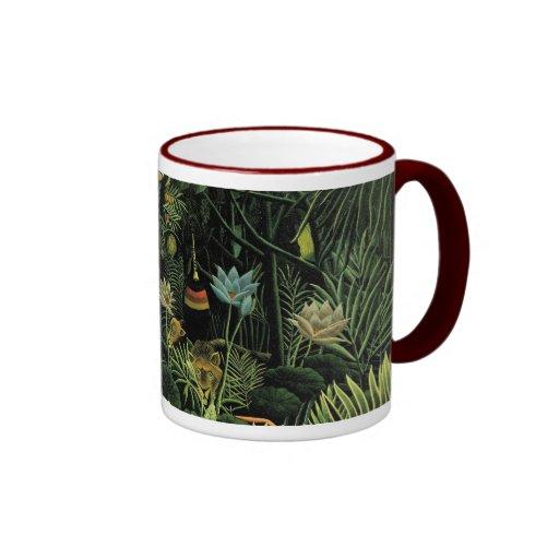 Henri Rousseau's The Dream (1910) Coffee Mug