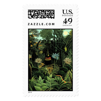 Henri Rousseau's The Dream (1910) Postage Stamp