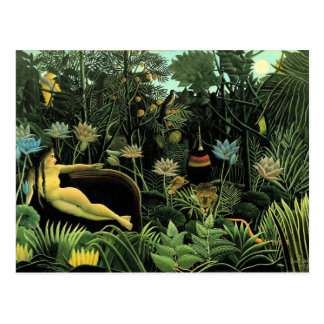 Henri Rousseau's The Dream (1910) Postcard