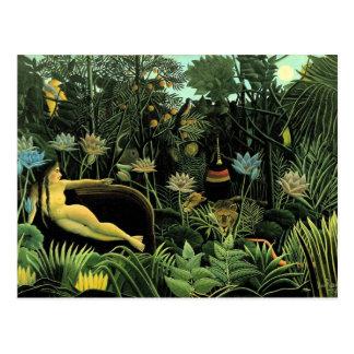 Henri Rousseau's The Dream (1910) Postcard