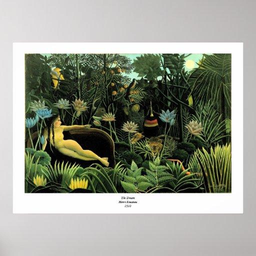 Henri Rousseau's The Dream (1910) Posters