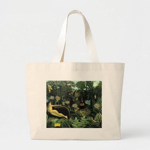 Henri Rousseau's The Dream (1910) Tote Bag