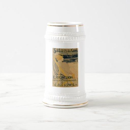 Henri Toulouse-Latrec - Passenger 1895 Beer Stein
