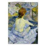 Henri Toulouse Lautrec - The Bath GC Greeting Card