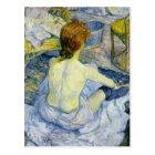 Henri Toulouse Lautrec - The Bath GC Postcard