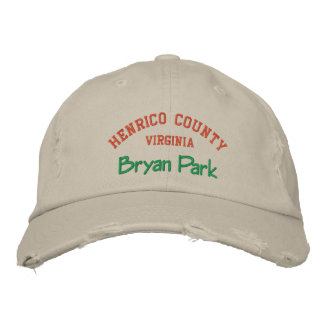 Henrico County Embroidered Baseball Cap