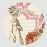Henrietta Classic Round Sticker