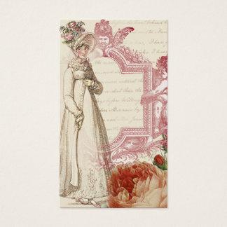 Henrietta, gold, calling card