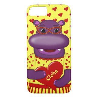 Henrietta Hippo-iPhone 7 Case