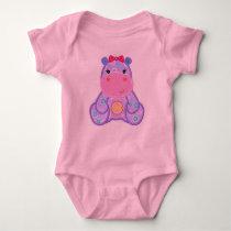 Henrietta Hippo Romper Baby Shower Gift