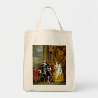 Henrietta Maria and Charles I by Van Dyck Tote Bag