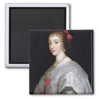 Henrietta-Maria of France 2 Inch Square Magnet