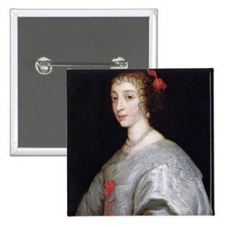 Henrietta-Maria of France Pinback Button