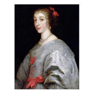 Henrietta-Maria of France Post Card