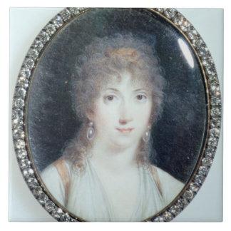 Henriette Lucy Dillon (1770-1853) Marquise de la T Ceramic Tile