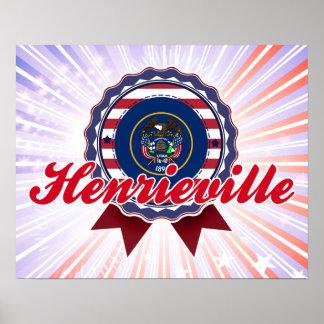 Henrieville, UT Poster