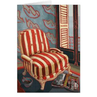 Henris Chair Art Card