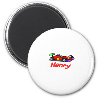 Henry 2 Inch Round Magnet