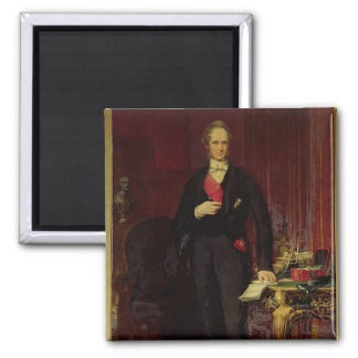 Henry, 3rd Viscount Palmerston 2 Inch Square Magnet