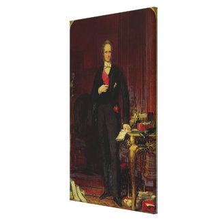 Henry 3rd Viscount Palmerston Stretched Canvas Print