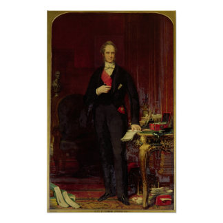 Henry, 3rd Viscount Palmerston Poster