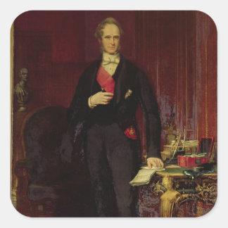 Henry, 3rd Viscount Palmerston Square Sticker