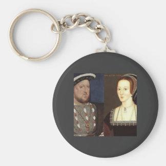 Henry 8th and Anne Boleyn Key Chain