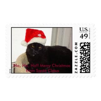 Henry as Santa Postage