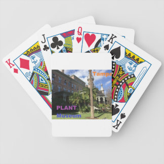 Henry B. Plant Museum Bicycle Playing Cards