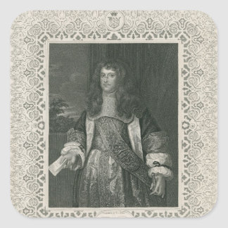 Henry Bennet, 1st Earl of Arlington Square Sticker