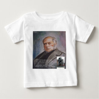 Henry Bessemer The Steel Converter & Quote Gifts Baby T-Shirt