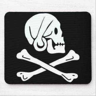 Henry cada bandera de pirata auténtica alfombrillas de raton