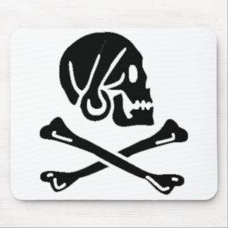 Henry cada bandera de pirata auténtica alfombrillas de ratones