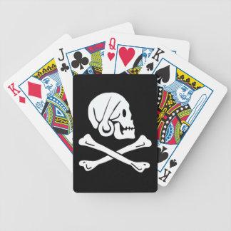Henry cada bandera de pirata auténtica cartas de juego