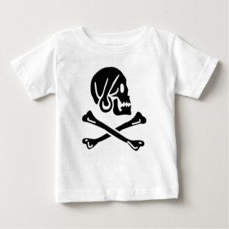 Henry cada bandera de pirata auténtica playera de bebé