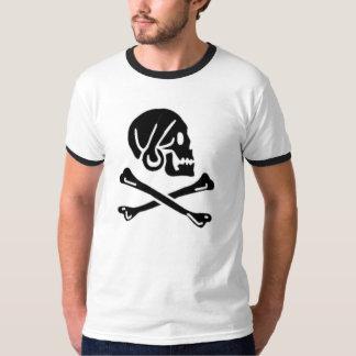 Henry cada bandera de pirata auténtica remeras