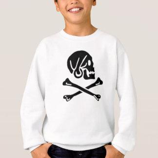 Henry cada bandera de pirata auténtica sudadera