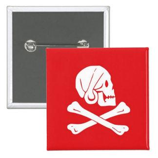 Henry cada botón de la bandera de pirata pins