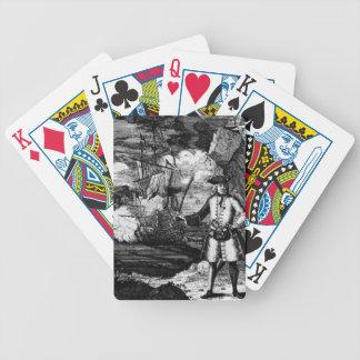 Henry cada retrato del pirata barajas de cartas