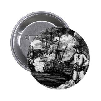 Henry cada retrato del pirata pin