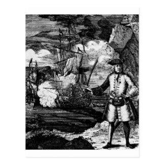 Henry cada retrato del pirata postal