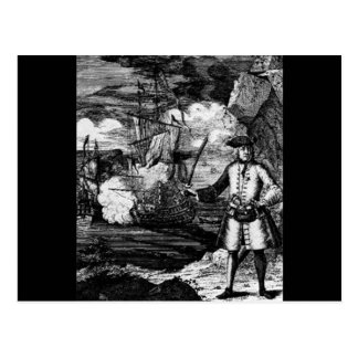 Henry cada retrato del pirata tarjeta postal