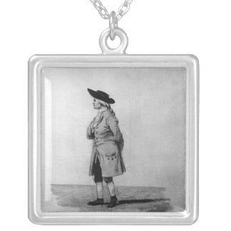 Henry Cavendish, F.R.S. , 19th c. Silver Plated Necklace