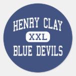 Henry Clay - Blue Devils - High - Lexington Sticker