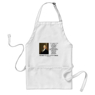 Henry Clay Constitution Of United States Posterity Adult Apron