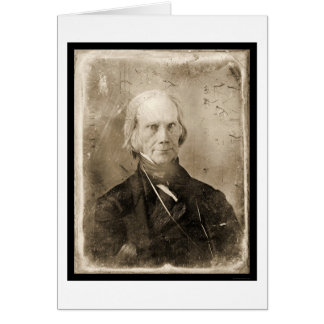 Henry Clay Daguerreotype 1851 Greeting Cards