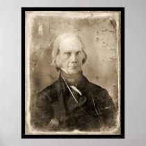 Henry Clay Daguerreotype 1851 Poster