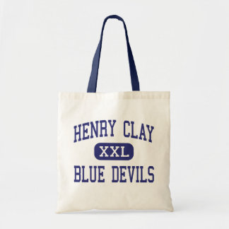 Henry Clay - diablos azules - alto - Lexington Bolsas Lienzo