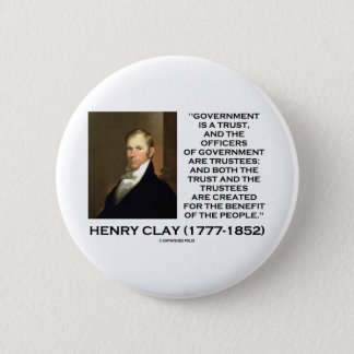 Henry Clay Govt Trust Officers Are Trustees Quote Button