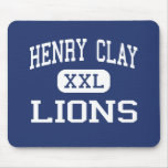 Henry Clay Lions Middle Los Angeles Mouse Pad